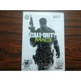 Juego Call Of Duty Modern Warefare 3 Wii!