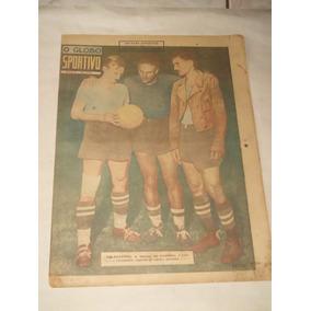 O Globo Esportivo Nº 179 - Jan/1942 - Seleção Brasil