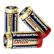 Kit 10 Bateria 3v Panasonic Lithium Cr123 Photo