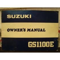 Suzuki Gs1100e Manual Servicio * Changoosx