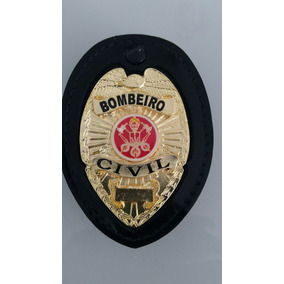 Distintivo De Bombeiro Civil