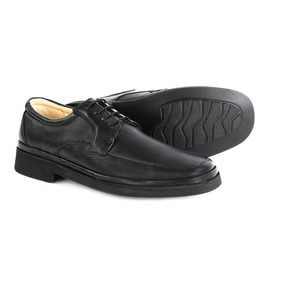 Zapato Doble Ancho Caballero Plantilla Acojinada 25 A 30. 81