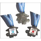 Egresado 2018 Medalla Souvenirs Con Nombre C/u Metal