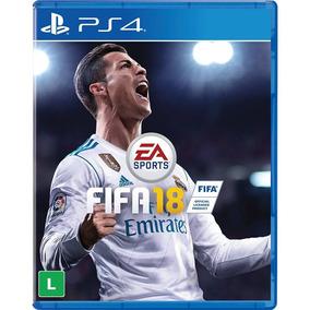 Jogo P/ Ps4 Fifa18 2018 Original En-pt