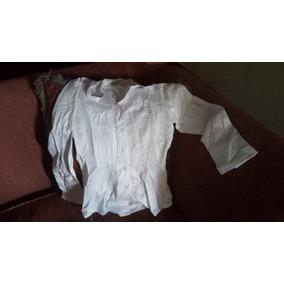Camisa De Dama Blanca Usada Talla S
