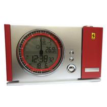Relógio Oficial Scuderia Ferrari Maranello C/ Projetor Hora