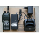 Radio Portátil Icom Ic-v8 Con Base Cargador Bc-146