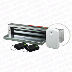 Kit Electro Cerradura Control Remoto Electromagnetica 300lb