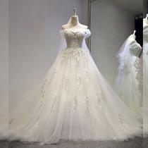 Vestido Noiva Importado Lindo Luxo Frete Grátis Wd29