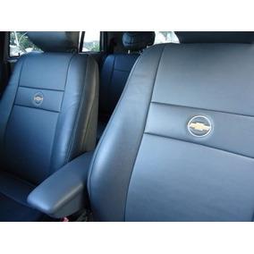 Jogo De Capas Couro Ecologico S10 Blazer Com Logo Chevrolet.
