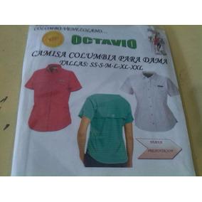 Patrones Impresos Camisa Columbia Dama Tamaño Real Por Talla