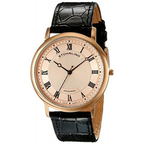 Reloj Cuarzo Correa Cuero Cocodrilo Hombre 645.04 Stührling