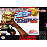 International Soccer/ V.francia 98 Snes Cartucho