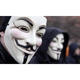 Mascara Anonymus V De Venganza Disfraz V De Vendetta Pvc