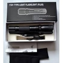 Lampara Led Tactical Defensa Peronal Potente C/electroshock