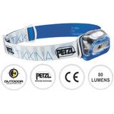 Lanterna Cabeça Capacete Ce Tikkina 80 Lumens Petzl Azul