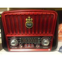 Radio Antigua , Estilo Vintage Nueva, Solar