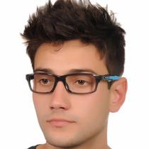Armação Para Óculos De Grau Preto Com Haste Variadas