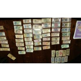 Coleção De Dinheiro Antigo E Cédula Antigas 190 Notas