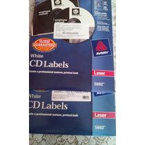 Etiquetas Adherible Para Cd Blanca Para Imprimir