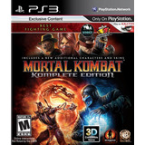 Mortal Kombat Ps3 Komplete Edition + Kratos + Dlc Lgames