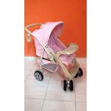 Carrinho De Bebê At6 Burigotto Rosa