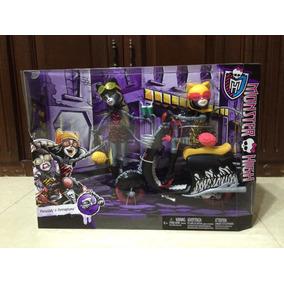 Monster High Meowlady Y Purrsephone Con Moto