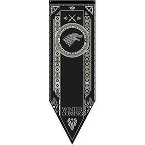 Juego De Tronos Casa Stark Torneo Banner P¿ster En Tela 20