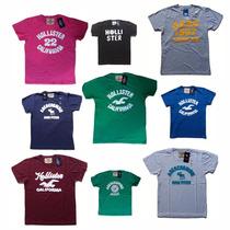 Kit 10 Camisetas Atacado Holister I Abercrombie I Aeropostal
