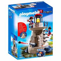 Retromex Playmobil 6680 Faro Pirata Barco Isla Caribe