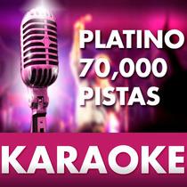 Mega Pistas De Karaoke Edición Platino 70000 Actualizadas