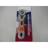Cortador Circular Manual Tecidos Patchwork Scrapbook 45mm