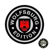 2 Adesivos Vw Volkswagen Wolfsburg Edition A Pronta Entrega