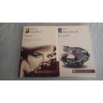 Libro La Perla / Santa / Paquete Dos Libros