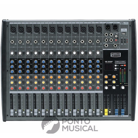 Mesa De Som / Mixer 12 Canais Usb Cmx 12 Usb - Mark Audio