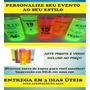 Kit 50 Copos Long Drink 350 Ml (personalizados) Acrilico