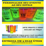 Kit 50 Copos Long Drink 350 Ml (personalizados) Acrilico
