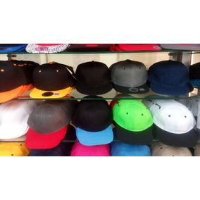 Gorras Planas Unicolores Y Bicolores