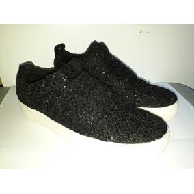 Zapatos De Dama Casuales Tipo Vans Talla 37