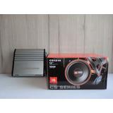 Amplificador Lightning Audio La-600m Y Subwoofer Jbl Cs1214