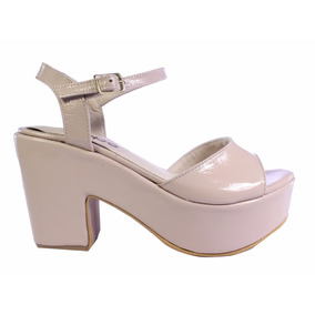 Sandalias Mujer Zapatos Plataforma Cuero Verano 2018 Tops