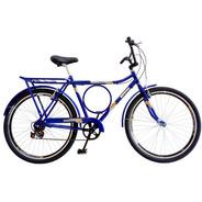 Bicicleta Barra Forte Samy C/ 6 Marchas Cubo C/ Rolamento