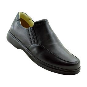 Sapato Casual Masculino 410 Doctor Shoes Preto