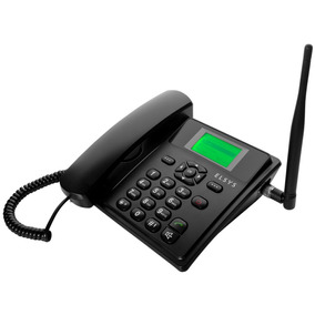 Elsys Epfs11 Telefone Celular Rural De Mesa Dual Sem Juros