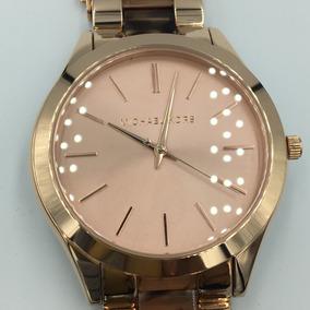 Reloj Michel Kors Mk4301 Dorado Envi Gratis Original