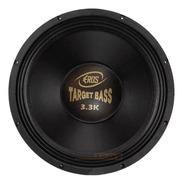 Alto Falante Eros Target Bass 3.3k 1650w Rms 15'' 4 Ohms