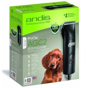 Tosqueadeira De Cães Andis Agc 2 Velocidade Kit Completo