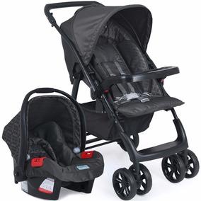 Carrinho De Bebê Travel System Com Bebê Conforto Burigotto