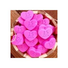 100 Sabonete Coração 15 Anos Debutante