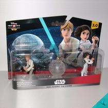Set Luke & Leia Skywalker Stars Wars Disney Infinity 3.0